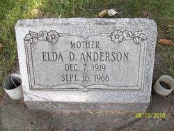 Elda D <i>Webster</i> Anderson