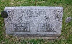 Elsie P <i>Maynard</i> Barber