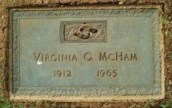 Virginia <i>Garland</i> McHam