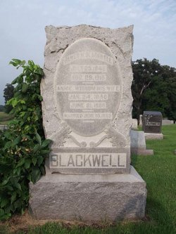Annie <i>Wisdom</i> Blackwell