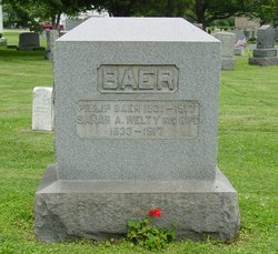 Sarah A <i>Welty</i> Baer