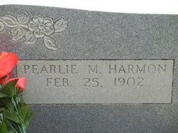 Pearlie M Harmon