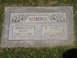 Marilyn F Peggy Alsberg