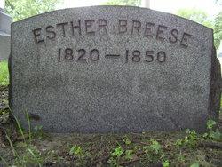 Esther <i>Keeler</i> Breese