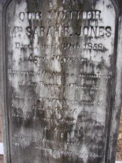 Sarah R Jones