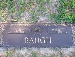 Mary Ellen Marlie <i>Daniel</i> Baugh