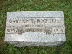 Margaret Elizabeth <i>Downey</i> Dowdell