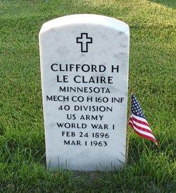Clifford Le Claire
