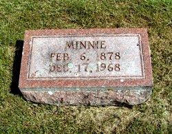 Minna Minnie <i>Blume</i> Zander