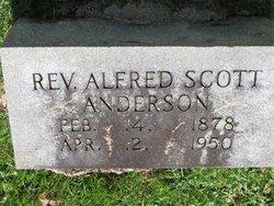 Rev Alfred Scott Anderson