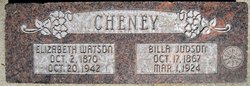 Elizabeth Jane <i>Watson</i> Cheney