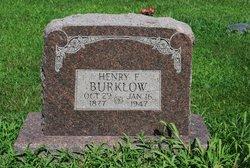 Henry Franklin Burklow