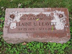 Elaine U. Leavitt