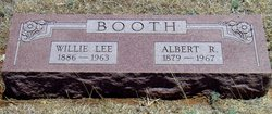 Willie Lee Booth