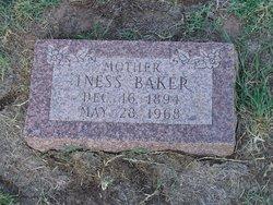 Iness <i>Smith</i> Baker