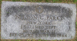 Sgt Nelson G Parks