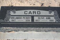 Olive Ann <i>Mead</i> Card