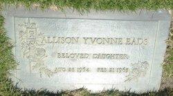 Allison Yvonne Eads