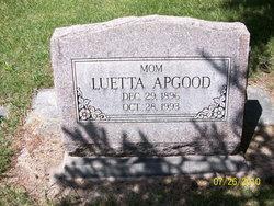 Luetta May <i>Casper</i> Apgood
