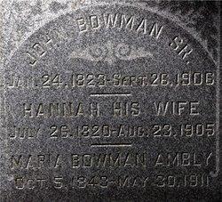 Maria <i>Bowman</i> Ambly