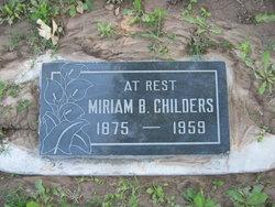 Miriam Murphy <i>Barton</i> Childers