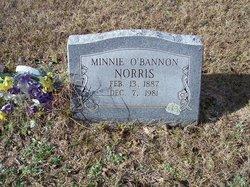Minnie <i>O'Bannon</i> Norris