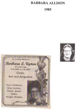 Barbara L. <i>Allison</i> Upton