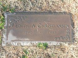 Edith Amanda <i>Dahlberg</i> Christiansen