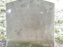 Harklan Crayton Duncan
