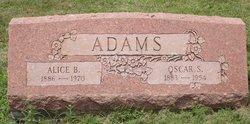 Alice <i>Buch</i> Adams