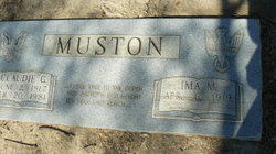 Ima M. <i>Canady</i> Muston