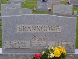 Carrie Effie <i>Kinzer</i> Branscome