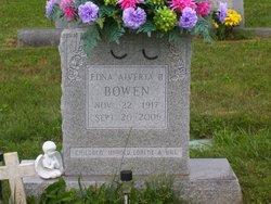 Edna Alverta <i>Branscome</i> Bowen