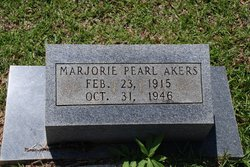 Marjorie Pearl <i>Scaife</i> Akers