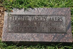 Lucille <i>Farley</i> Akers