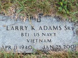 Larry Keith Adams, Sr