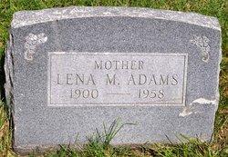 Lena M Adams