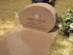 Alberta Memaw Anderson