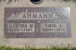 Martha M <i>Stammen</i> Ahmann