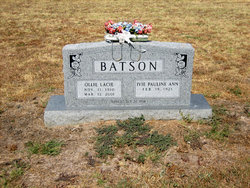 Ivie Pauline Ann <i>Shafer</i> Batson