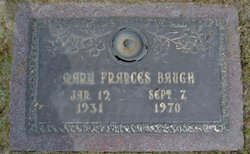 Mary Frances <i>Smith</i> Baugh