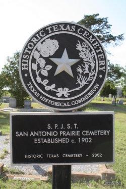 San Antonio Prairie Cemetery