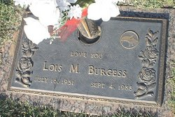 Lois Marie <i>Musgrave</i> Burgess