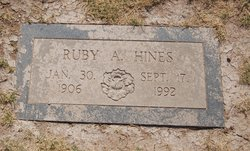 Ruby Ann <i>Hart</i> Hines
