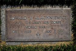 Edward John Alachniewicz, Sr