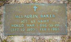 McLaurin Baker