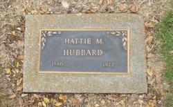 Hattie May <i>Smith</i> Hubbard