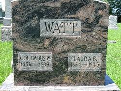 Laura Belle <i>Randolph</i> Watt