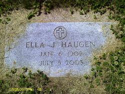Ella Johanna <i>Rohwer</i> Haugen
