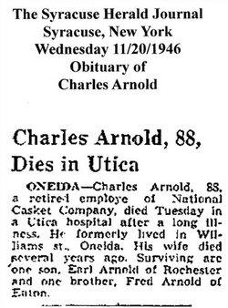 Charles C. Arnold